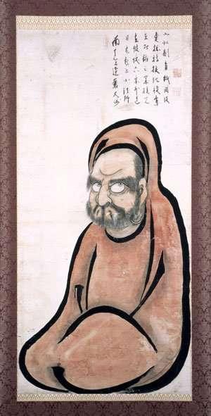 Bodhidharma (en japonés Bodaidaruma) (f. 532)
