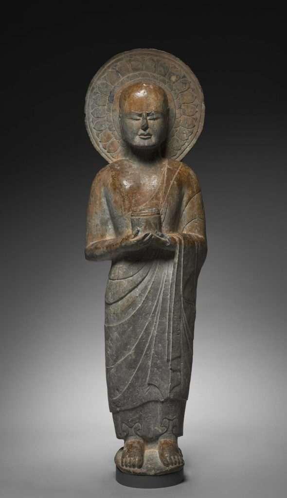 Mahākāśyapa [en sánscrito; Makakashō en japonés] (s. VI a.e.c.)