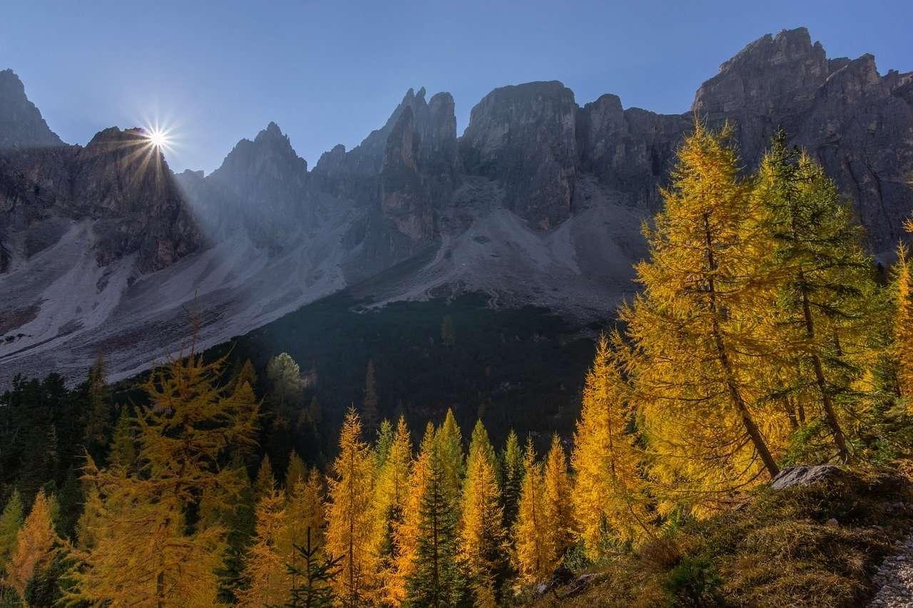 Estímulo para las rocas de otoño