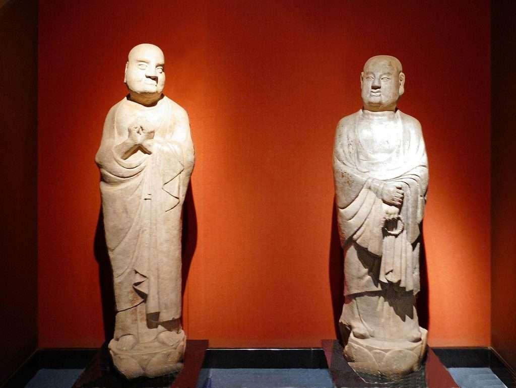 Mahākāśyapa y Ānanda · El Dharma inefable
