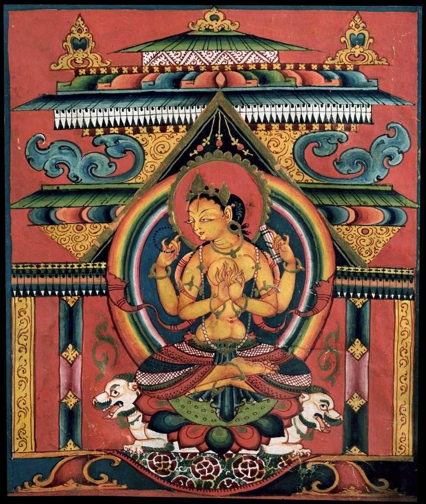 Prajñāpāramitā · Más allá de dos o uno